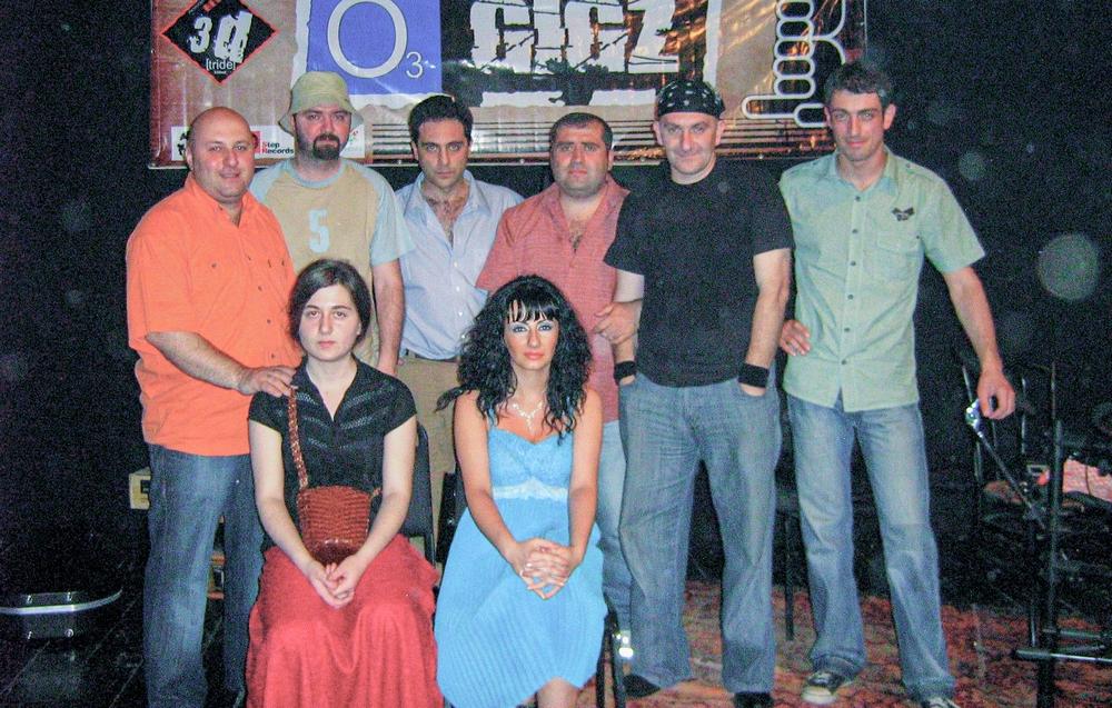 The SANDA Rock Band Live at the OZONI Gigz 2007