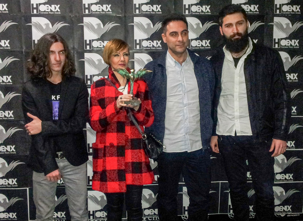 The SANDA Rock Band at the Award Phoenix 2015